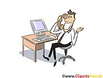 Kaufmann für Versicherungen und Finanzen Clipart, Bild, Grafik zum Thema Ausbildungsberufe