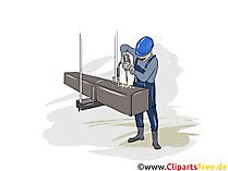 Konstruktionsmechaniker Ausbildung, Berufe Cliparts, Bilder