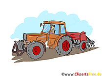 Land- und Baumaschinenmechatroniker  Clipart, Bild, Grafik zum Thema Ausbildungsberufe
