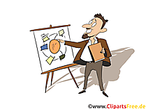 Management Assistent Clipart, Bild, Grafik zum Thema Ausbildungsberufe