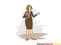 Rechtsanwalts und Notarfachangestellte Clipart, Bild, Grafik zum Thema Ausbildungsberufe