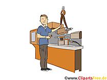 Verfahrensmechaniker Clipart, Bild, Grafik zum Thema Ausbildungsberufe