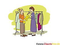Verkäufer Clipart, Bild, Grafik zum Thema Ausbildungsberufe
