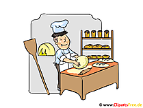Bäcker Clipart, Bild, Cartoon, Illustration kostenlos