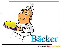 Baker clipart foto gratis