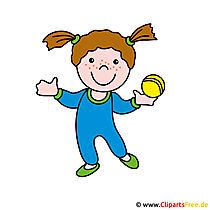 Cartoonbild kostenlos Fitness