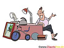 Clipart loppmarknad