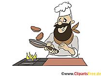 Clipart matlagning gratis