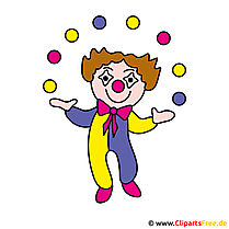 Clown Clipart Picture - Occupations Images