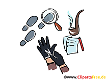 Detective illustrations for free