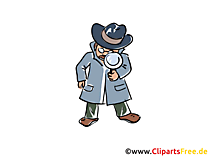 Detective Illustrations and Clip Art
