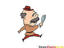 Opa, Großvater Clipart, Illustration, Comic, Cartoon, Bild