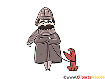 Sherlock Holmes Dedektif resim, grafik, küçük resim
