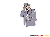 Undersökare clipart, lagerillustration, grafik, bild
