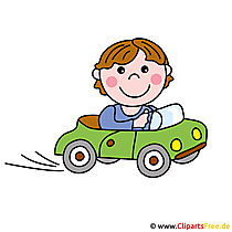 Driving School Cartoon Logo - Occupations Images gratis