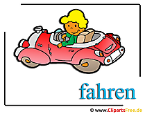 Driving School Clipart gratis om te downloaden