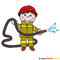 Firefighters clipart image for free