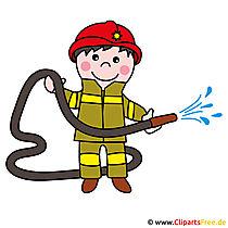 Brandweerlieden clipart afbeelding gratis