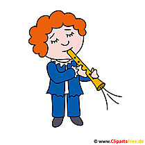 Flute clipart picture for free