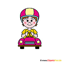 Formula 1 driver, racer clipart image for free