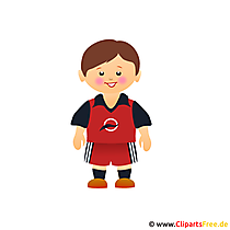 Voetballer Afbeelding Clip Art