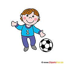 Gratis voetbalbeeldverhaalbeeld - Beroepenafbeeldingen gratis