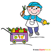 Gardener clipart picture for free
