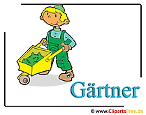Gardener Clipart free - Occupations images for free