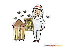 Biodlare bild, clipart, illustration, gratis tecknad film
