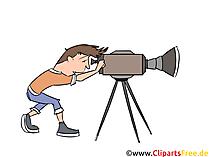 Kameraman clipart
