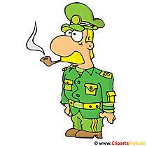 Kapitein Clipart, afbeelding, cartoon, grafisch, illustratie