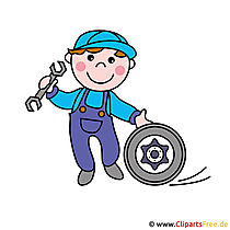 Auto Master clipart-afbeelding