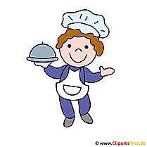 Chef-kok Clipart Picture - beroepen beelden