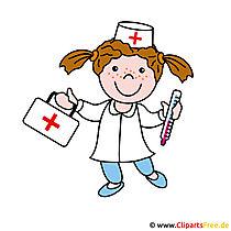 Nurse clipart foto gratis