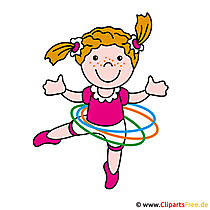 Girl clip art picture for free