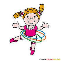 Mädchen Clip Art Bild kostenlos