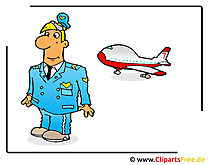 Pilot Bild-Clipart free