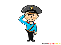 Policeman clipart, picture, cartoon, free illustration