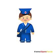 Postbote Clipart
