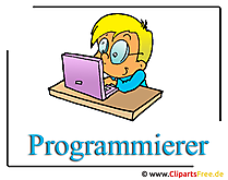Programmeur clipart illustratie gratis