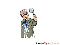 Sherlock Holmes-afbeelding, boekillustratie, beeldverhaal