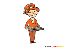 Selling staff image, clipart, cartoon