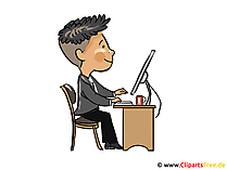 Webdesigner clipart, picture, cartoon, free illustration