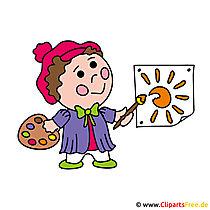 Zeichner Bild Clipart kostenlos