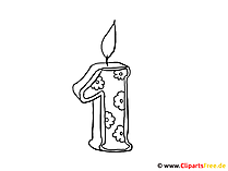 Ausmalbild Geburtstag