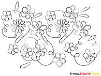 Kolorowanie sezonów na wiosnę
