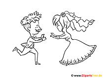 Ausmalen Bilder Zur Hochzeit