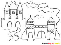 Maerchenschlossを着色するための画像
