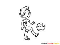 KiGaと学校のための無料の着色と印刷のための子供の絵