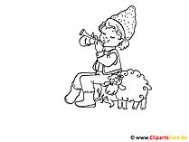 Rysunki dla dzieci do kolorowania